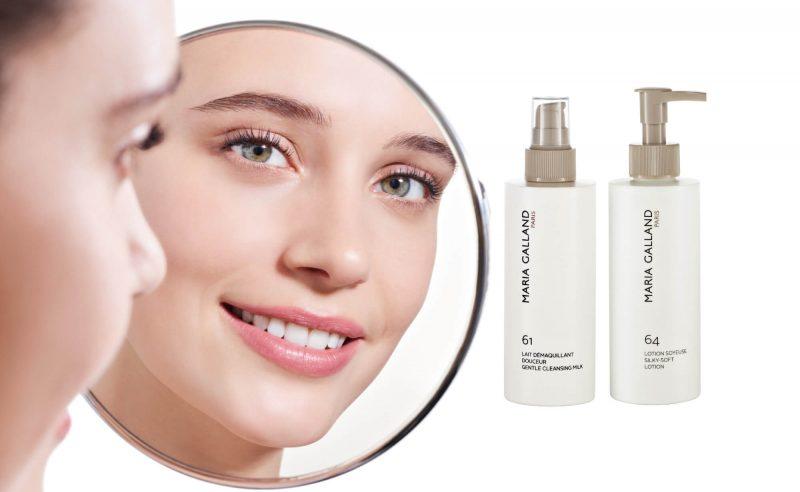 Sữa rửa mặt Maria Galland Gentle Cleansing Milk – Làm sạch dịu nhẹ với cả làn da vùng mắt