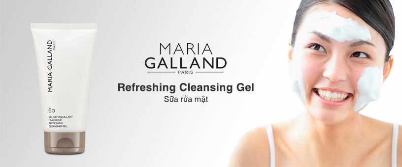 Sữa rửa mặt Maria Galland Refeshing Cleansing Gel – Làn da sáng khỏe tự nhiên